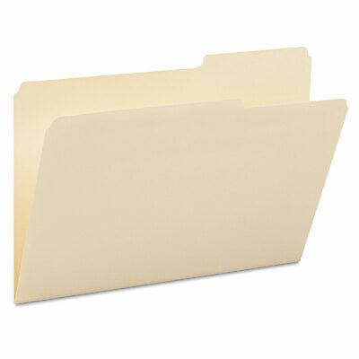 Smead Guide Height File Folders 25 Cut Right Top Tab Legal Manila 100box 15385