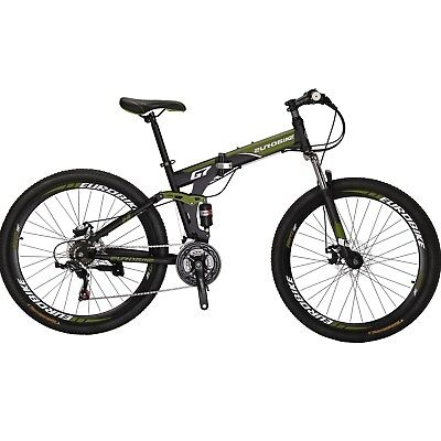 21045775ae1 Full Suspension Folding Mountain Bike 27.5