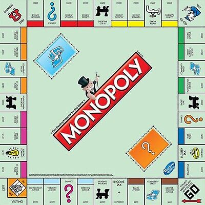 Monopoly The Classic Edition Traditional Family Fun Board Game, New
