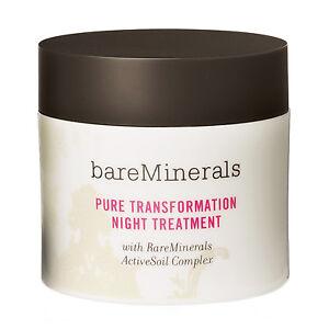 Bare Minerals Pure Transformation Night Treatment (Clear) 4.2g/ 0.15 oz