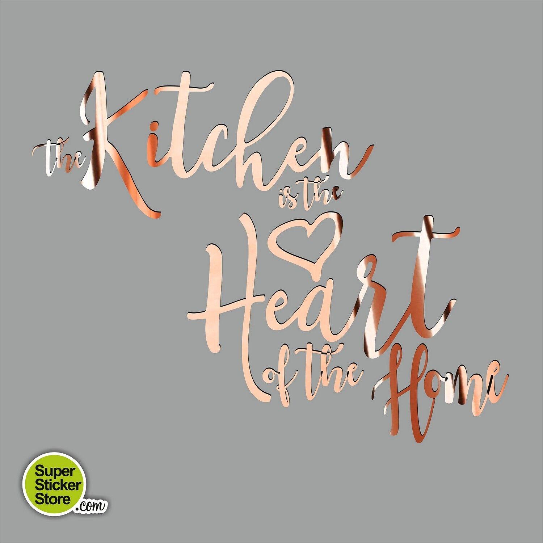 Kitchen Heart Home Wall Stickers Vinyl Decor Custom Personal