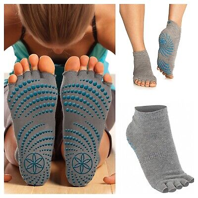 Grippy Yoga Toeless Socks Pilates Training Socks For Better Balance &