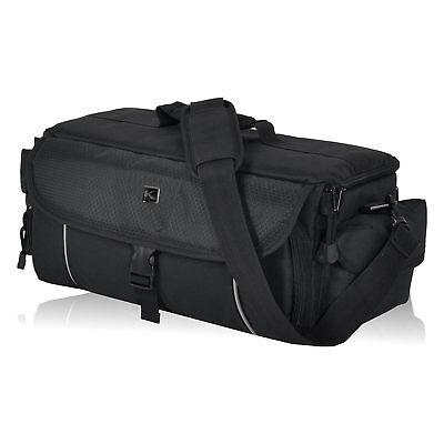 Kameratasche KEANU Fototasche Cambridge Pro DSLR Go Tasche XL Foto Video Schwarz