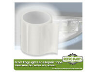 Front Fog Light Repair Lens Tape for Hyundai Coupe MOT Pass Fix Clear