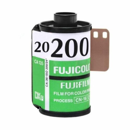 5 Rolls Fuji 200 Speed Fujifilm 35mm Film Color 20+ Exp C200 Vintage Expired