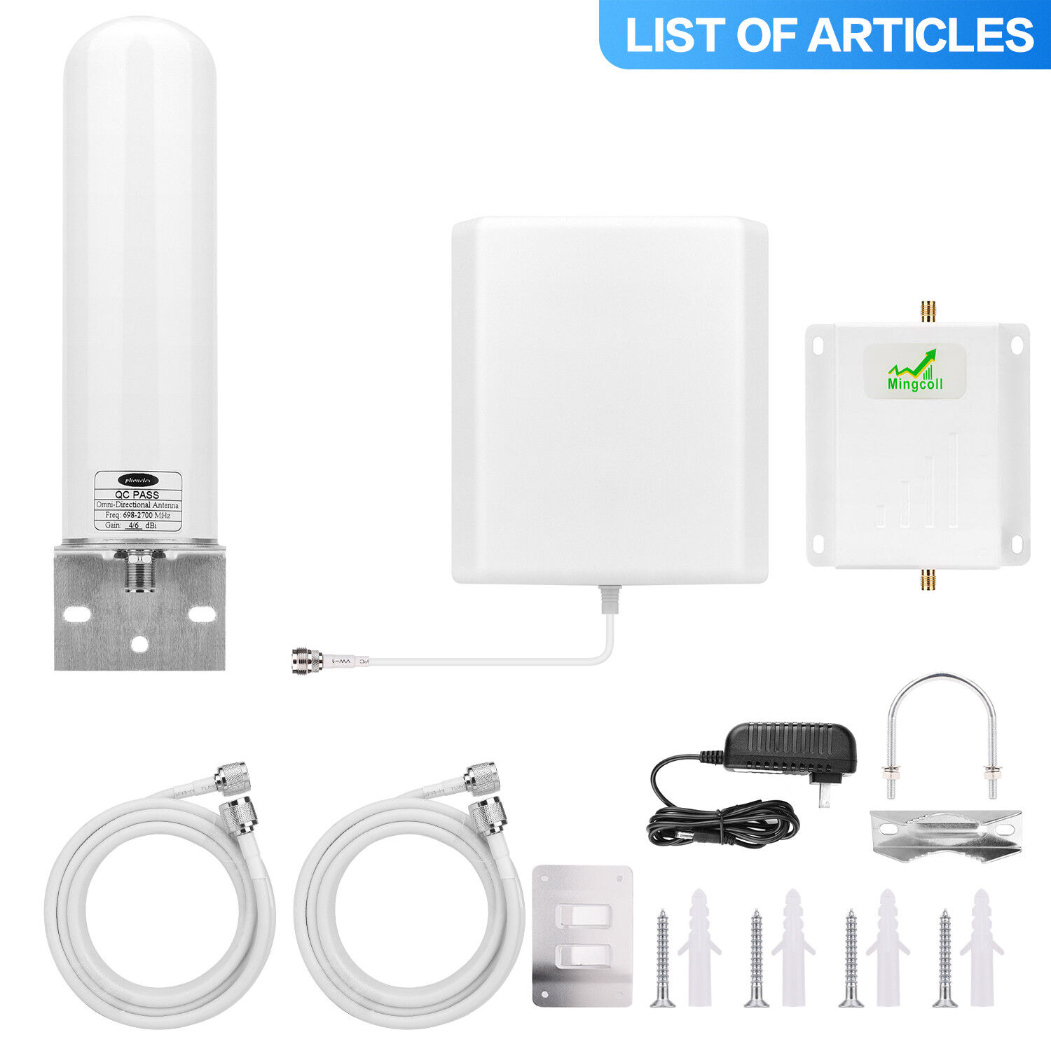 Cell Phone Signal Booster for Home Sprint 1900MHz 2G 3G 4G R