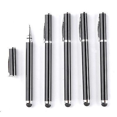 5er universal Eingabestift Kugelschreiber Stylus Stift für PDA Tablet Smartphone