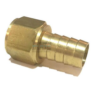 34 Hose Barb X 34 Female Npt Brass Pipe Fitting Npt Thread Gas Fuel Water Air