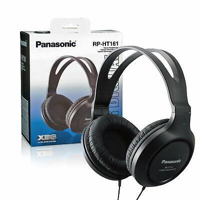 Panasonic RP-HT161- Auriculares de diadema cerrados, negro