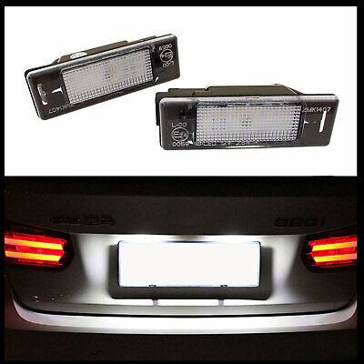 LED Premium Iluminación Matrícula Para Citroen Berlingo I II C2 C3 C4...