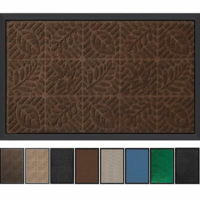"""Outside Shoe Mat Rubber Doormat for Front Door 18""""x 30"""" Outd"""