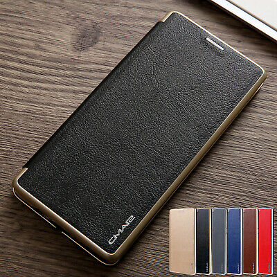 For Samsung Note10+ S10 S9 Plus Phone Case Luxury Leather Wallet Flip Card Cover