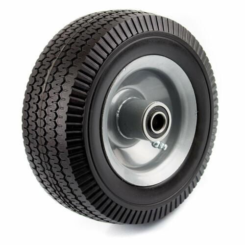 NK Heavy Duty Solid Rubber Flat Free Tubeless Hand Truck/Utility Tire Wheel, WFF