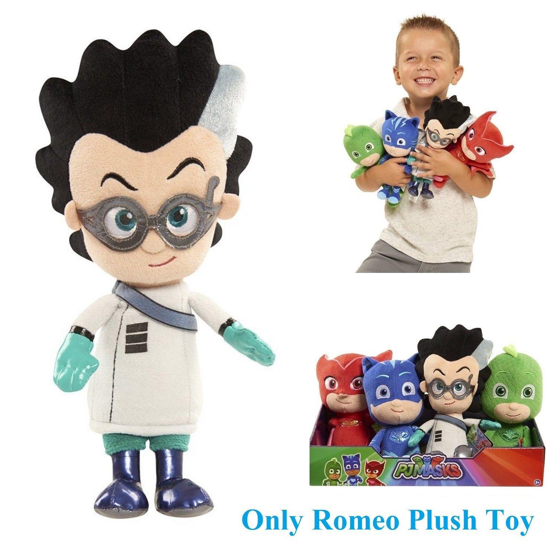 Masks Bean Romeo Plush Just Play PJ Super soft cuddly Plush