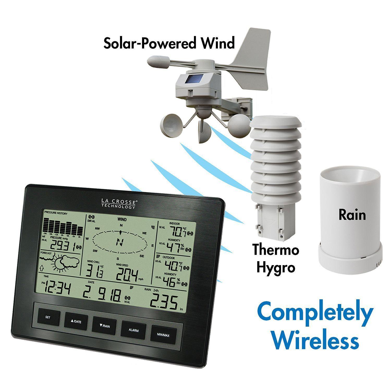 La Crosse Digital Weather Station Indoor Outdoor