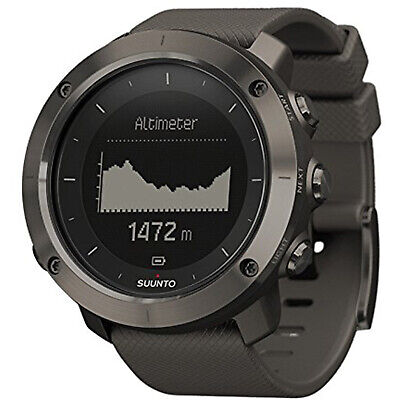 Suunto SS022226000 Traverse GPS And Activity Monitor, Sports Watch, Graphite Graphite Heart Rate Monitor