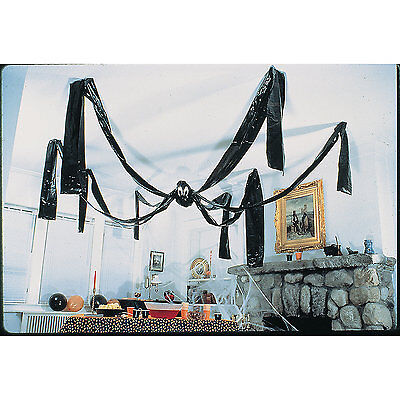 HALLOWEEN Party Decoration Prop Jumbo GIANT HANGING CEILING SPIDER 20 ft Foot - Giant Spider Prop