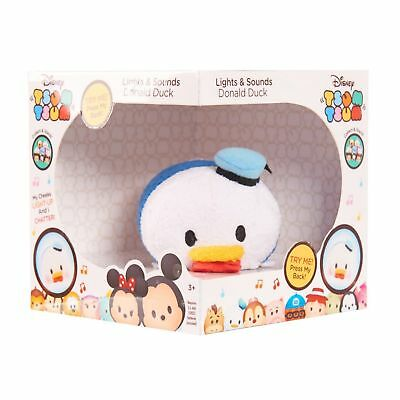 Disney Tsum Tsum Lights and Sounds Patch Plush Toy Gift Collectible- Donald Duck