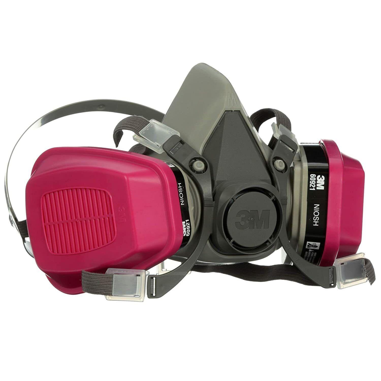 3M 6000 Series Half Mask Respirator - Medium