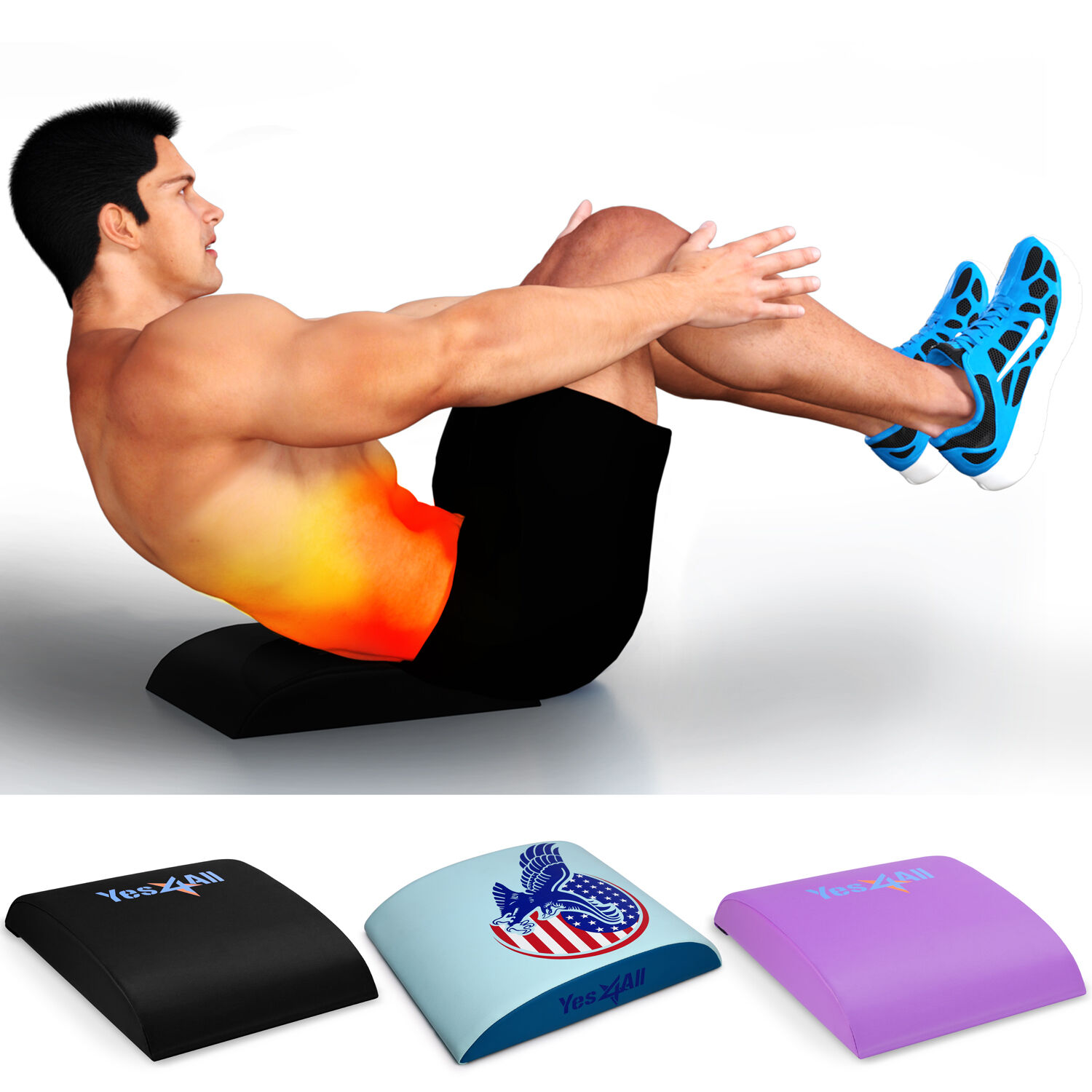 Abdominal Ab Mat Core Trainer Hybrid Workout Equipment