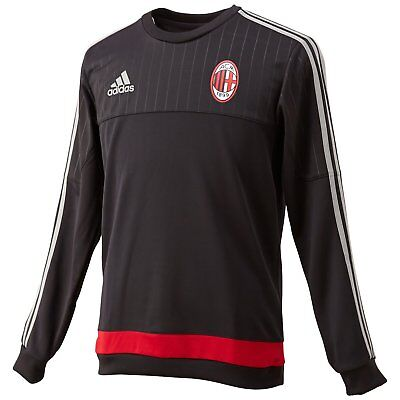 Milan Training Shirt (Adidas AC Mailand Milan Sweatshirt Trainingstop Grösse S XL 2XL Top Training NEU)