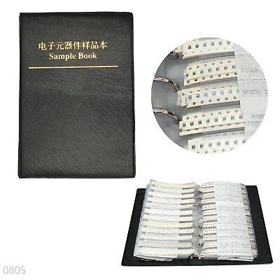 8500pcs 170 Values Rc0805 1 Smd Resistors Assortment Kit Sample Book 0805