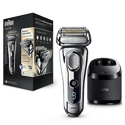 Braun Series 9 9296 cc Shaver electric reed mens in humedoyseco
