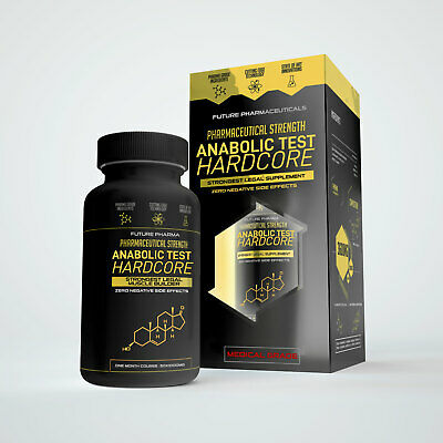 ANABOLIC TEST HARDCORE- STRONGEST MUSCLE TESTOSTERONE BOOST AVAILABLE!+ CREATINE