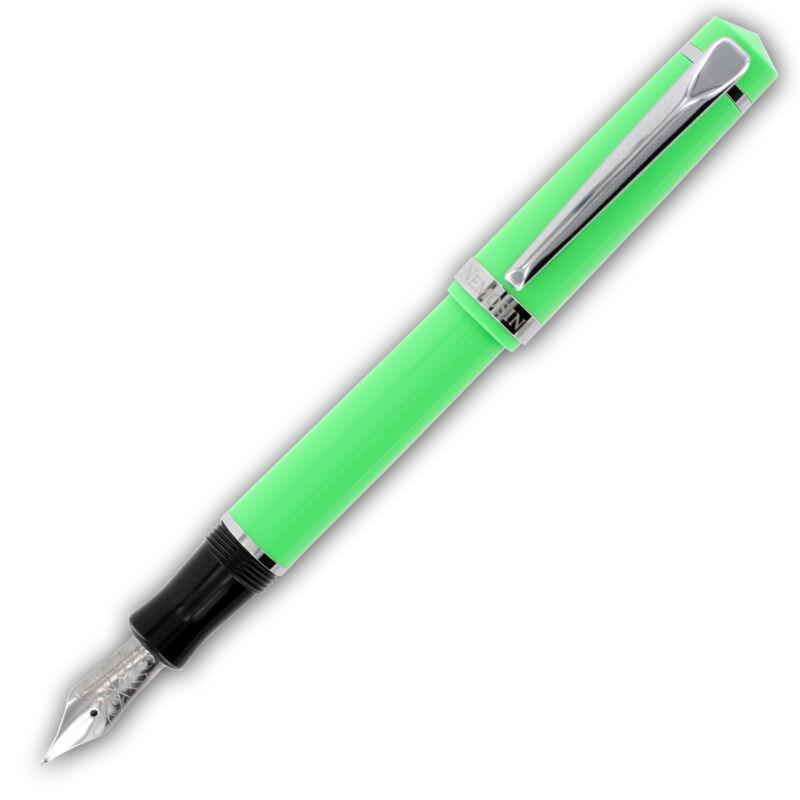 Nemosine Singularity Green Barrel Fountain Pen - German Fine Nib