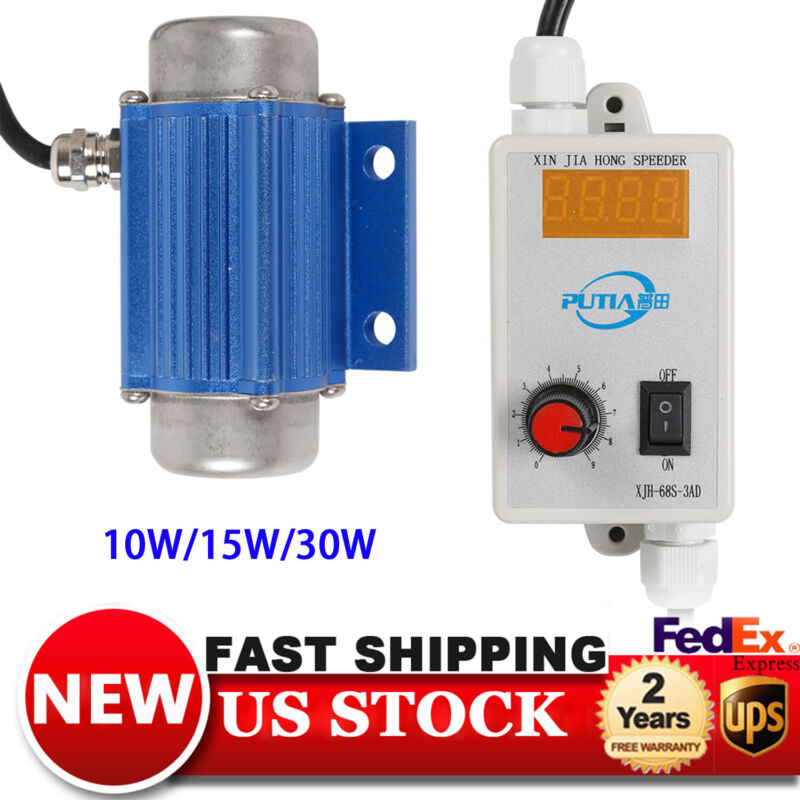 DC Brushless Motor Vibrator Motor 12V/24V Variable Speed Feeder Massager Model