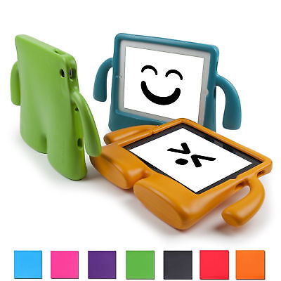 Ipad 2 Case Cover - Safe Shockproof Kids Handle Foam Case Cover Stand For iPad 2 3 4 Mini 1234 Air2
