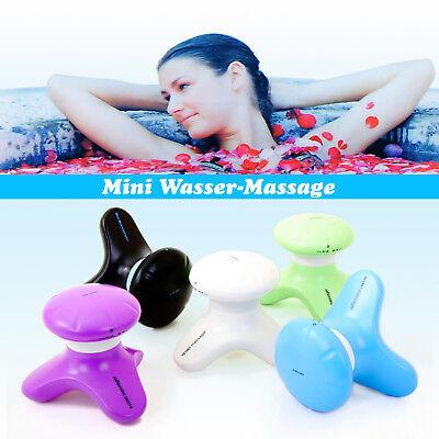 Mini-massage (Mini Massagegerät Massage Krake Handmassagegerät Vibration Wasserdicht Wellness)