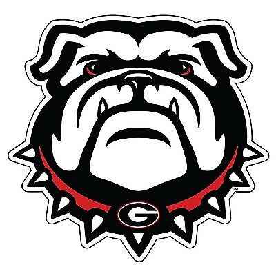 Georgia Set - UGA New GEORGIA Bulldog Cornhole Decals / SET of 2