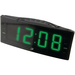 GPX C353B GPX DUAL ALARM CLOCK WITH AM FM RADIO Batteries Included