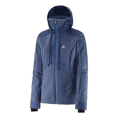 NWT Salomon Snowsculpture Jacket - Women's, Abyss Blue, Medium