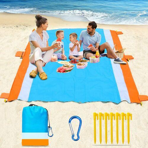 Portable Beach Mat Outdoor Picnic Blanket Camping Waterproof