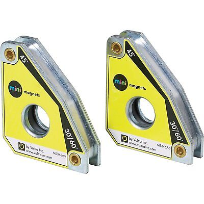 Strong Hand Tools Welding Mini Magnet Squares Ms346at Twin Pack