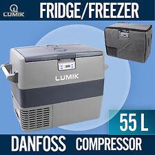 LUMIK 55L Portable Freezer Fridge 12V/24V/240V  Camping Car Boat Caravan  Cooler