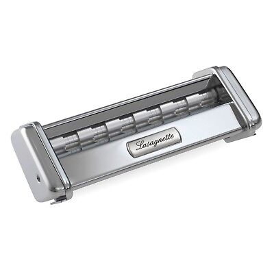 Marcato Atlas Stainless Steel 150 Lasagnette Attachment, Silver