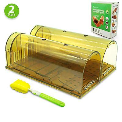 Humane Mouse Trap, Best Mouse Traps That Work Live Catch Release Smart Mice/Rat