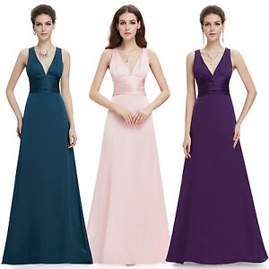 US-Long-Bridesmaid-Evening-Formal-Wedding-Ball-Gown-Prom-Maxi-Dresses-09008