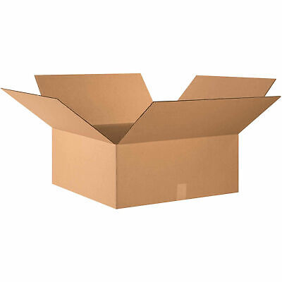 24 X 24 X 10 Cardboard Corrugated Boxes 65 Lbs Capacity 200ect-32 Lot Of
