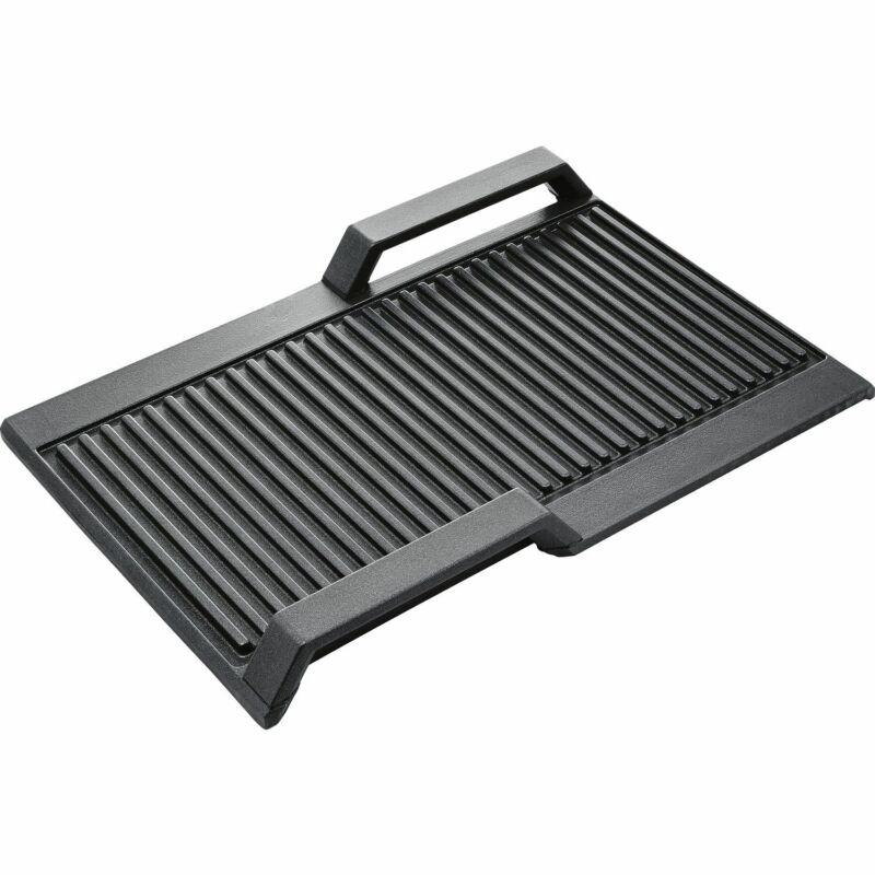 Siemens HZ390522 Grillplatte Flexinduktion Griddle Plate Ribbed FlexInduction