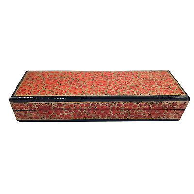 Handmade Papier Mache Treasure Box,Trinket Box, Mini Storage, Chest For Jewelry Mache Treasure Chest Boxes