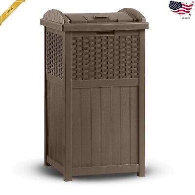 33 Gallon Trash Hideaway Trash Receptacle