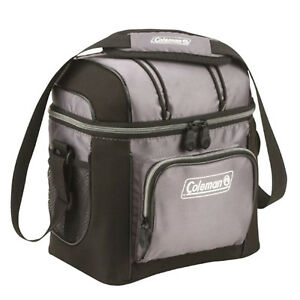Insulated Lunch Cooler Bag Travel Work School Lunch Box Thermos Bag Tote Gray