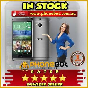 Pre-owned HTC one M8 Silver 16GB Brought to you by Phonebot Preston Darebin Area Preview