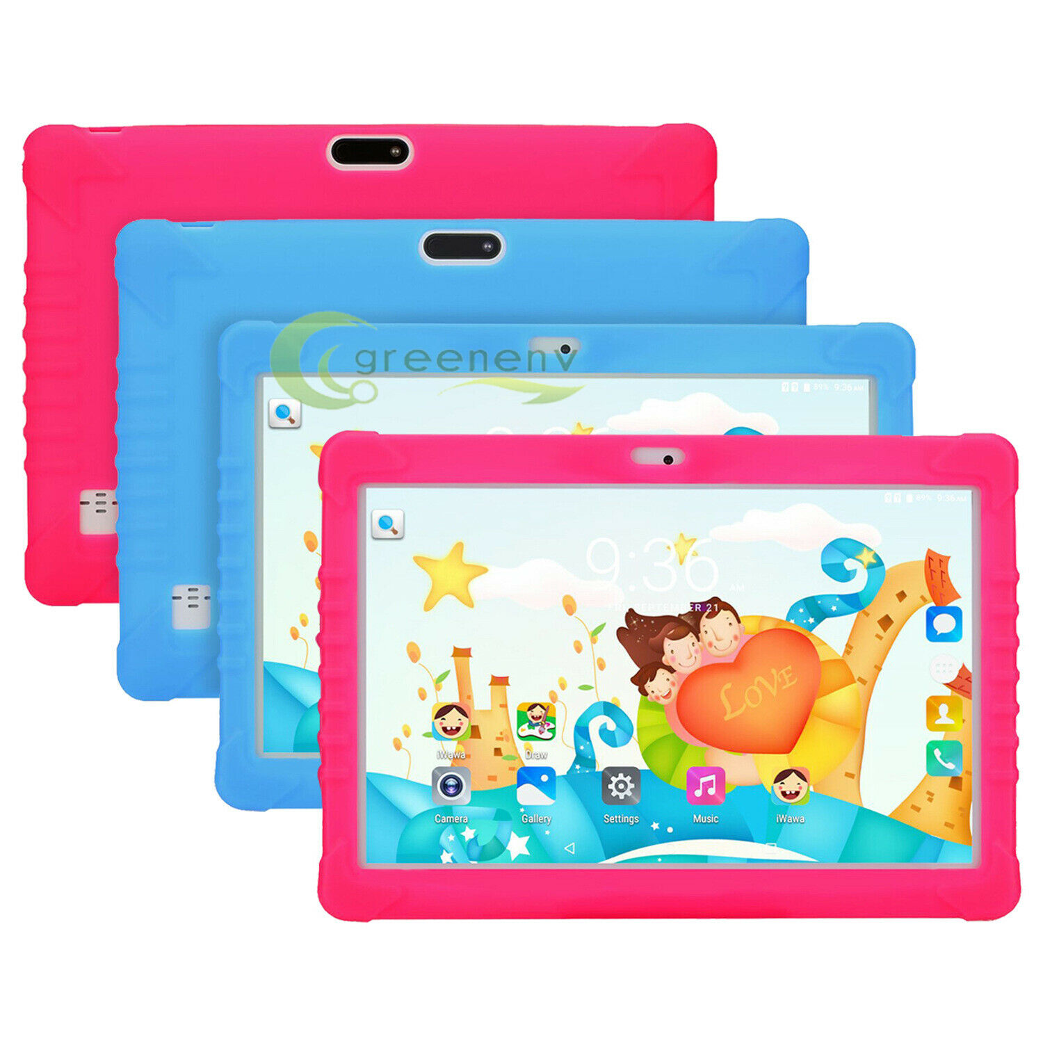 Android 8.0 Ten Core 10.1 Inch HD Kids Tablet Computer PC GP