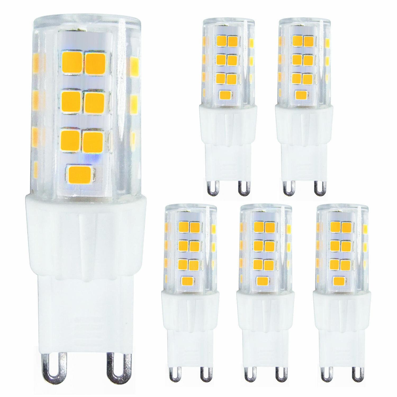 6-PACK 5W G9 LED Bulb  - 40W~50W Halogen Equivalent G9 Bulb