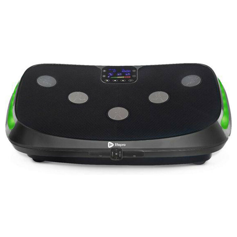 LifePro Rumblex 4D Vibration Plate Full Body Exercise Equipment Machine, Black